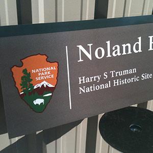 Park Service Signs
